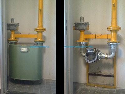 Ombouw 2-P balg naar Rotor (